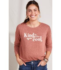 maurices womens kind is the new cool pullover red