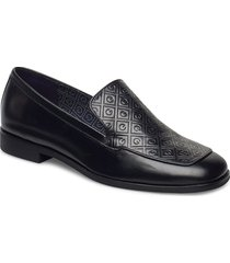 treesa moccasin loafers låga skor svart gant