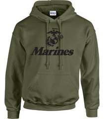 marine corps logo anchor eagle united states marines usmc military hoodie 426