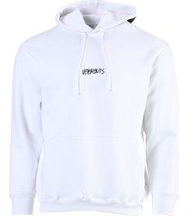 written logo hoodie