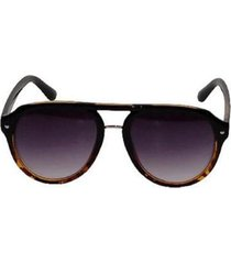 óculos de sol khatto aviador chic italiano - c108 - unissex