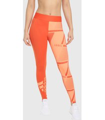 leggings naranja  adidas performance alphaskin iinternational