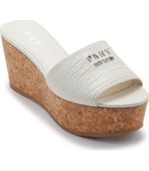 dkny cutie wedge sandals