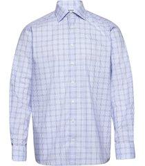 blue twill shirt skjorta business blå eton