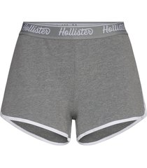 chain knit logo shorts shorts flowy shorts/casual shorts grå hollister