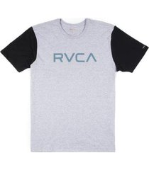 camiseta rvca big rvca bi color masculina