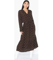 moss copenhagen rylie morocco ls dress aop långärmade klänningar