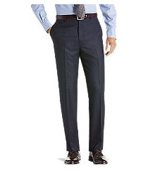 reserve collection tailored fit flannel dress pants - big & tall clearance by jos. a. bank