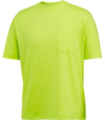 wolverine knox short sleeve tee - hi vis hi vis green, size l