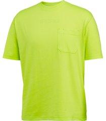 wolverine knox short sleeve tee - hi vis hi vis green, size m