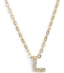 women's nadri initial pendant necklace