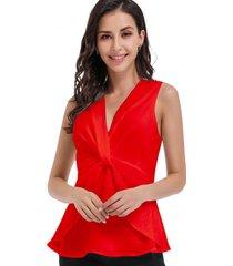 blusa nudo frontal rojo nicopoly