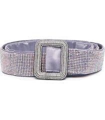 benedetta bruzziches venus stud-embellished belt - purple