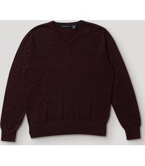 sweater formal liso burdeo perry ellis