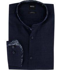 hugo boss overhemd donkerblauw rolfo