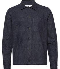 ruffo jc shirt 11266 overhemd casual blauw samsøe & samsøe