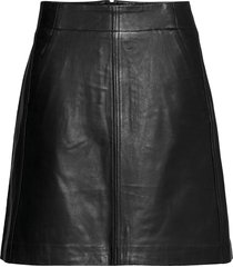akayiw skirt kort kjol svart inwear