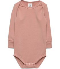 cozy me body bodies long-sleeved rosa müsli by green cotton