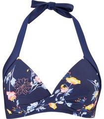 reggiseno bikini all'americana (blu) - bpc bonprix collection