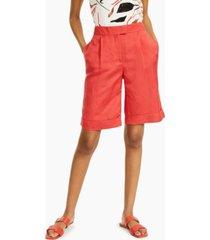alfani pleated bermuda shorts, created for macy's