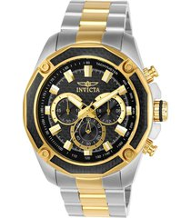 reloj invicta 22806 dorado acero inoxidable