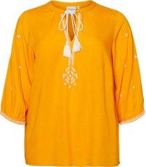 blus jrcacilda 3/4 sleeve blouse