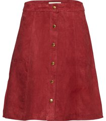 noah skirt knälång kjol röd lollys laundry