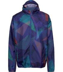 hoodie jacket outerwear sport jackets blå mizuno
