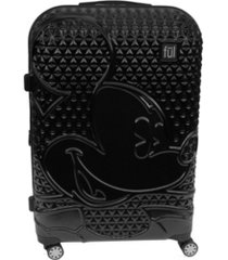 "ful disney textured mickey 29"" hardside spinner suitcase"