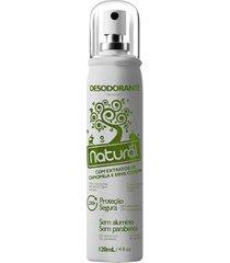 desodorante orgânico natural unissex camomila e erva cidreira 120ml