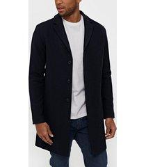selected homme slhbrove wool coat b noos jackor mörk blå
