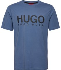 dolive204 t-shirts short-sleeved blå hugo
