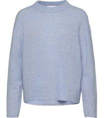 2nd raymond stickad tröja blå 2ndday