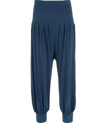 pantaloni alla turca 3/4 (blu) - bpc bonprix collection