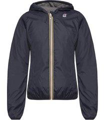 'lily poly jersey' jacket