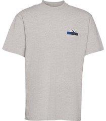 boxy ss tee t-shirts short-sleeved grå han kjøbenhavn