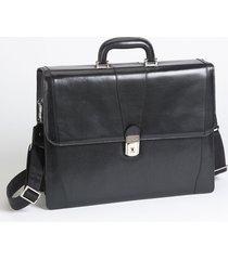 men's bosca double gusset briefcase -
