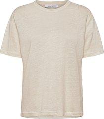 doretta t-shirt 6680 t-shirts & tops short-sleeved beige samsøe samsøe