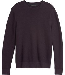 sweater organic cotton morado banana republic