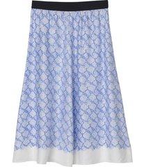 biella skirt in pacific blue