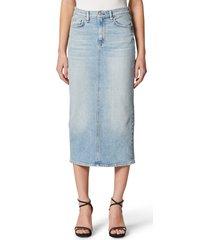 women's hudson jeans paloma denim pencil skirt