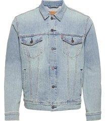 the trucker jacket colder than jeansjack denimjack blauw levi´s men