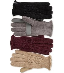 isotoner signature women's smartouch chenille gloves