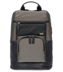 bric's monza urban backpack - grey