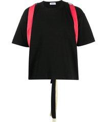 ambush bow detail t-shirt - black