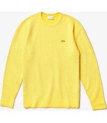 saco amarillo lacoste