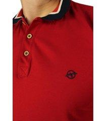 camiseta polo vinotinto para hombre cp141