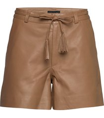 soft lamb leather - kenar bermudashorts shorts bruin sand