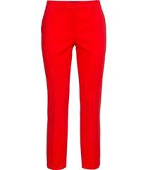 pantaloni cropped eleganti (rosso) - bodyflirt