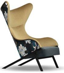 fotel nowoczesny glamour skandynawski loft uszak